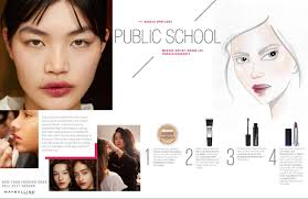makeup school in new york maybelline new york school fw17 makeup makeup and beauty