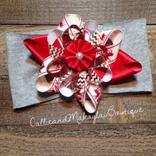 big present bow big bow tie knot headbands callie and makayla s bowtique