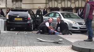 opel lebanon dramatic video shows man being held down after people u0027hit by car