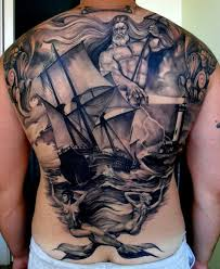 matteo pasqualin due back tattoo shading black and gray