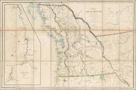 map of the oregon territory by the u s ex ex charles wilkes esqr