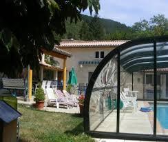 chambre d hote drome piscine annexe duplex piscine couverte chauffee à saillans