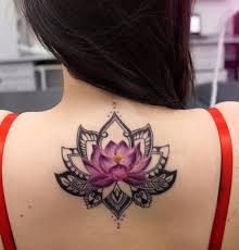 what does flower tattoos really mean color lotus flower u0026 black mandala u003c u003cfloral tattoos