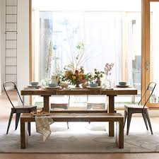 Emmerson Reclaimed Wood Expandable Dining Table Expandable - West elm emmerson industrial expandable dining table