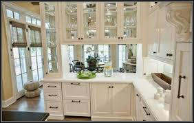 Glass Cabinet Doors For Kitchen Glass For Cabinet Doors Lowes Kitchen Cabinet Door Replacement