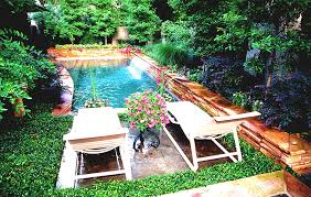 Outdoor Decoration by Decor Curvy Small Inground Pool With Concrete Floor For Outdoor