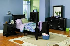 laurent youth bedroom set black room sets