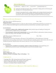 Resume Sle After School Program resume education format pre k resume sle jobsxs