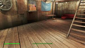 Home Plate by Fix Home Plate Floor Extended At Fallout 4 Nexus Mods And