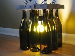 unique wine bottles floor ls chandelier bottle wine glass light sphere