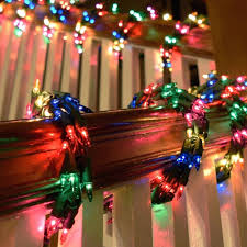 Outdoor Garland Lights Outdoor Garland With Lights S Sale Colored Without