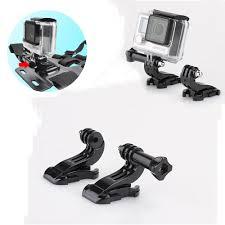 motocross helmet camera aliexpress com buy 2pcs j hook buckle chest strap belt helmet