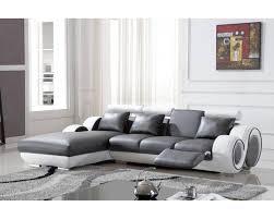 canapé angle gris blanc deco in canape d angle avec meridienne gris et blanc oslo