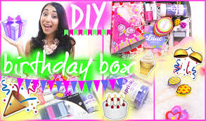 birthday care package diy birthday box birthday care package diyitgirl