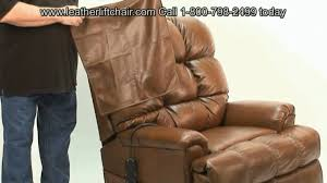 Lift Chair Leather Liftchair Com Leather Lift Chair Demonstration Youtube