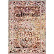 Pink Area Rug 5x8 5 X 8 Pink Area Rugs Rugs The Home Depot