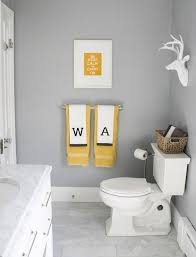 Gray And White Bathroom - best 25 grey yellow bathrooms ideas on pinterest yellow