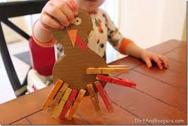 toddler motor turkey craft