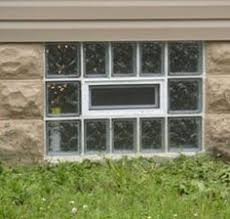 Basement Window Dryer Vent by Glass Block Basement Window With Air Vent And Dryer Vent This