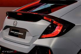 non ricer honda official civic hatchback prototype unveiled page 6 2016