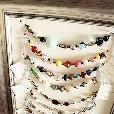 necklace bracelet display images Diy jewelry organizer jillian lare des moines iowa interior jpg