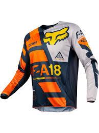 motocross gear ireland fox orange 2018 180 sayak mx jersey fox freestylextreme ireland