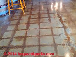 Painting Concrete Patio Slab Stains On Concrete Identification Of Types U0026 Sources Of Stains On