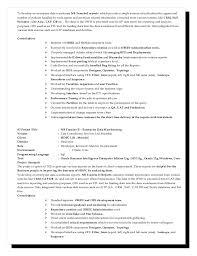 Obiee Sample Resumes by Obiee Sample Resume Informatica Resume Sample Obiee Resumes