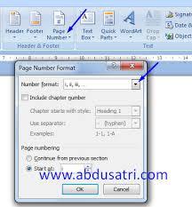 cara membuat nomor halaman yang berbeda di word 2013 cara membuat nomor halaman berbeda di word danish f