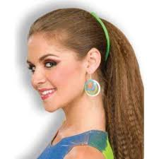 banana hair 80 s banana hair clip kostume room