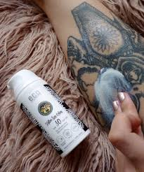 tattoo fading lotion eco cosmetics for tattoo lovers review heart shaped bones