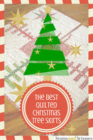 tree skirts the best quilted tree skirts 15 christmas quilt patterns seams