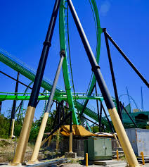 Six Flags Magic Mountain Opening Hours The Riddler U0027s Revenge Gets A New Paint Job At Six Flags Magic