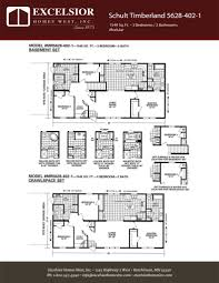 luxury modular home floor plans schult timberland 5628 402 1 excelsior homes west inc