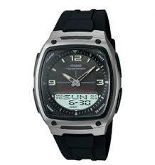 Jam Tangan Casio Karet jam tangan casio aw81 1a pria laris karet analog digital