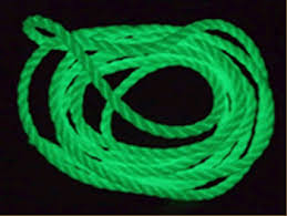 glow in the dark plastic ropes