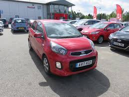 used kia picanto red for sale motors co uk