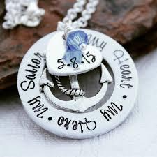 navy jewelry navy necklace navy jewelry navy