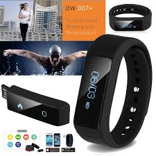 bracelet iphone images Bluetooth 4 0 sport wristband smart bracelet watch for android jpg
