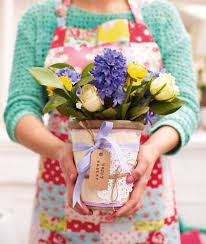 How To Make A Decorative - how to make an easter craft plant pot