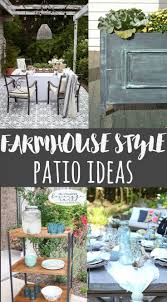 317 best images about outdoor decor projects on pinterest add fixer upper style to your outdoor space with these farmhouse style patio ideas
