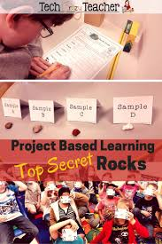 project based learning rocks and minerals project based