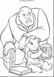 magnificent lilo stitch coloring pages stitch coloring
