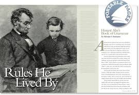 biography of abraham lincoln in english pdf abraham lincoln s first english grammar book discussed by nicholas a