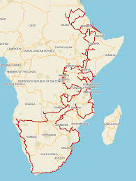 Eritrea Map About Cape To The Carmine C Tracks4africa Blog