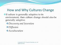 culture and culture change ppt