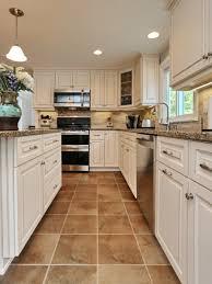 kitchen engaging white kitchen cabinets with tan quartz
