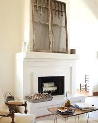 elegant shabby chic brick fireplace in surround uk remodel cost