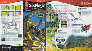 Six Flags Today 2000 Six Flags Ohio Brochure