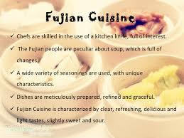 cuisine characteristics food